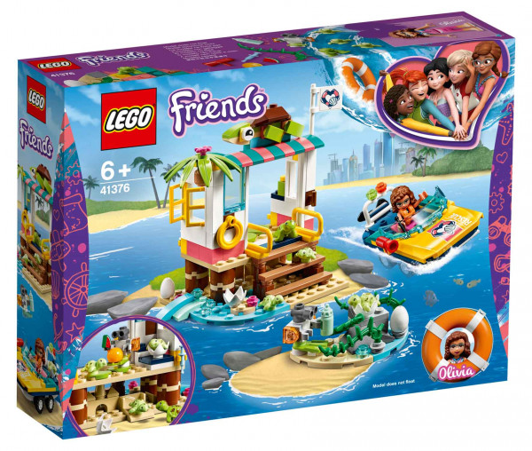 41376 LEGO® Friends Schildkröten-Rettungsstation
