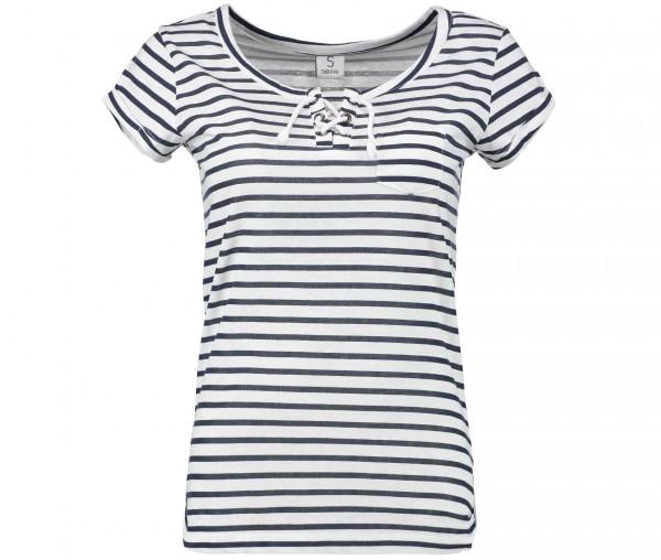 Sublevel maritimes Damen kurzarm Shirt