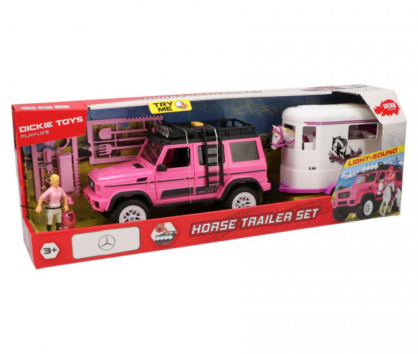 Dickie Toys Pferde-Trailer Set