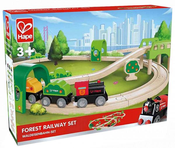 Hape Holzeisenbahn Forest Railway Set