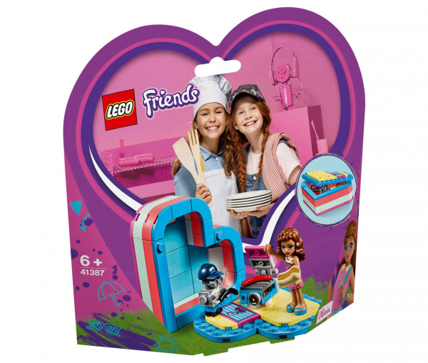 41387 LEGO® Friends Olivias sommerliche Herzbox