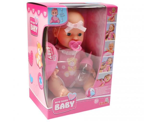 Simba Puppe New Baby Born Cute Doll