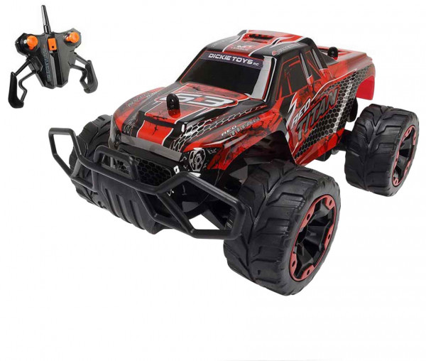 Dickie Toys 201119238 - RC Red Titan