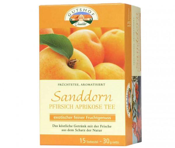 Avita Sanddorn Pfirsich Aprikosen Tee (15 Teebeutel)