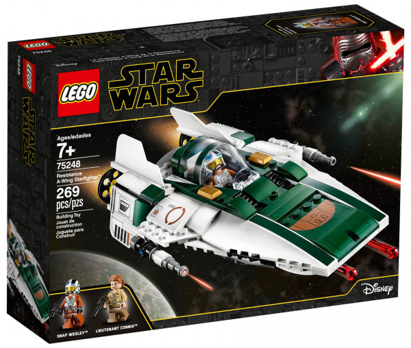 75248 LEGO® Star Wars™ Widerstands A-Wing Starfighter™