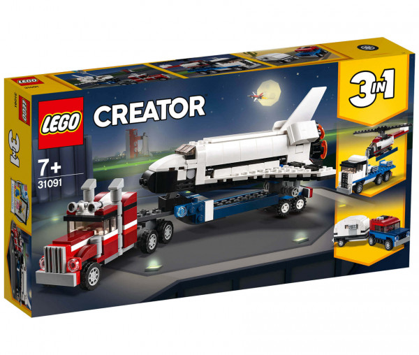 31091 LEGO® Creator Transporter für Space Shuttle
